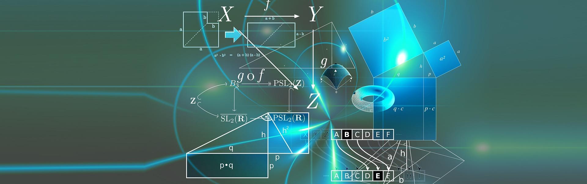 una imagen en la que hay distintas fórmulas, esquemas...