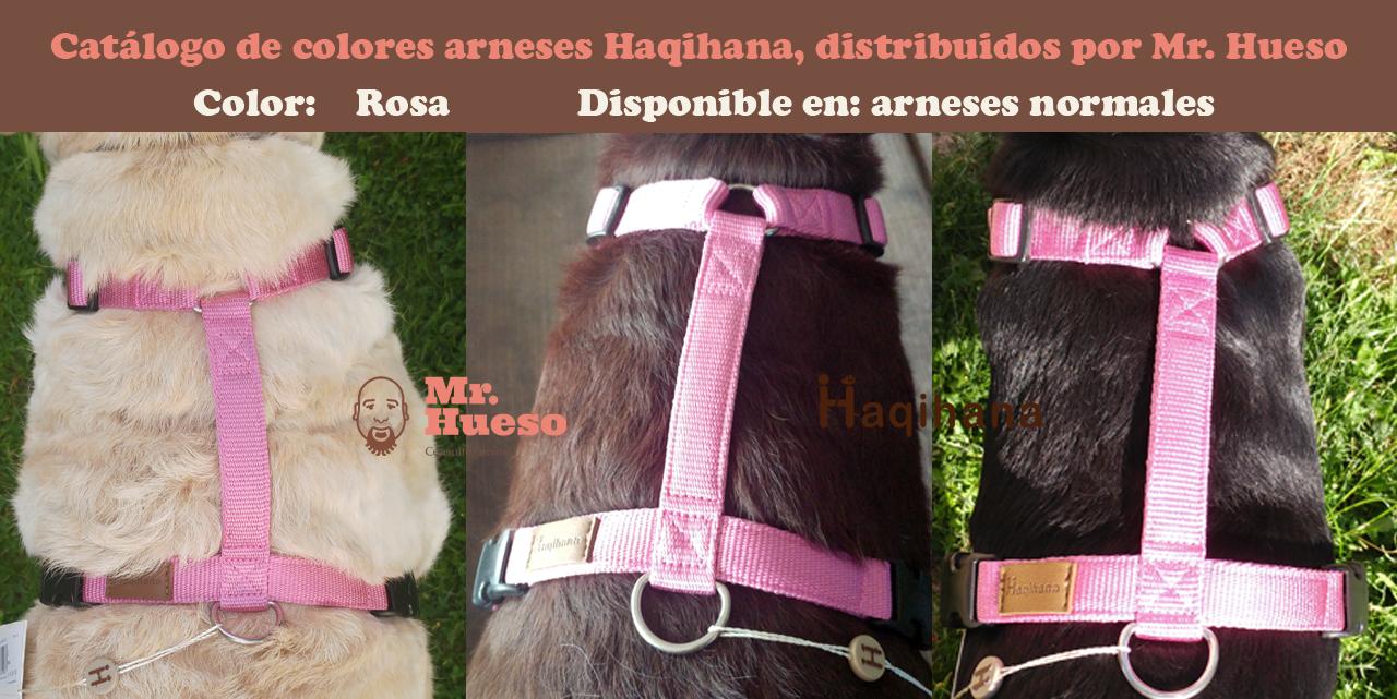 Color rosa catálogo Haqihana