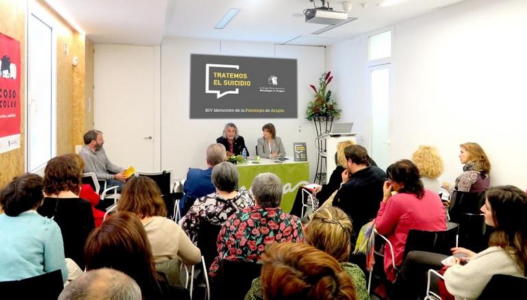 Imagen tomada durante el Encuentro anual de psicología de Aragón 2019