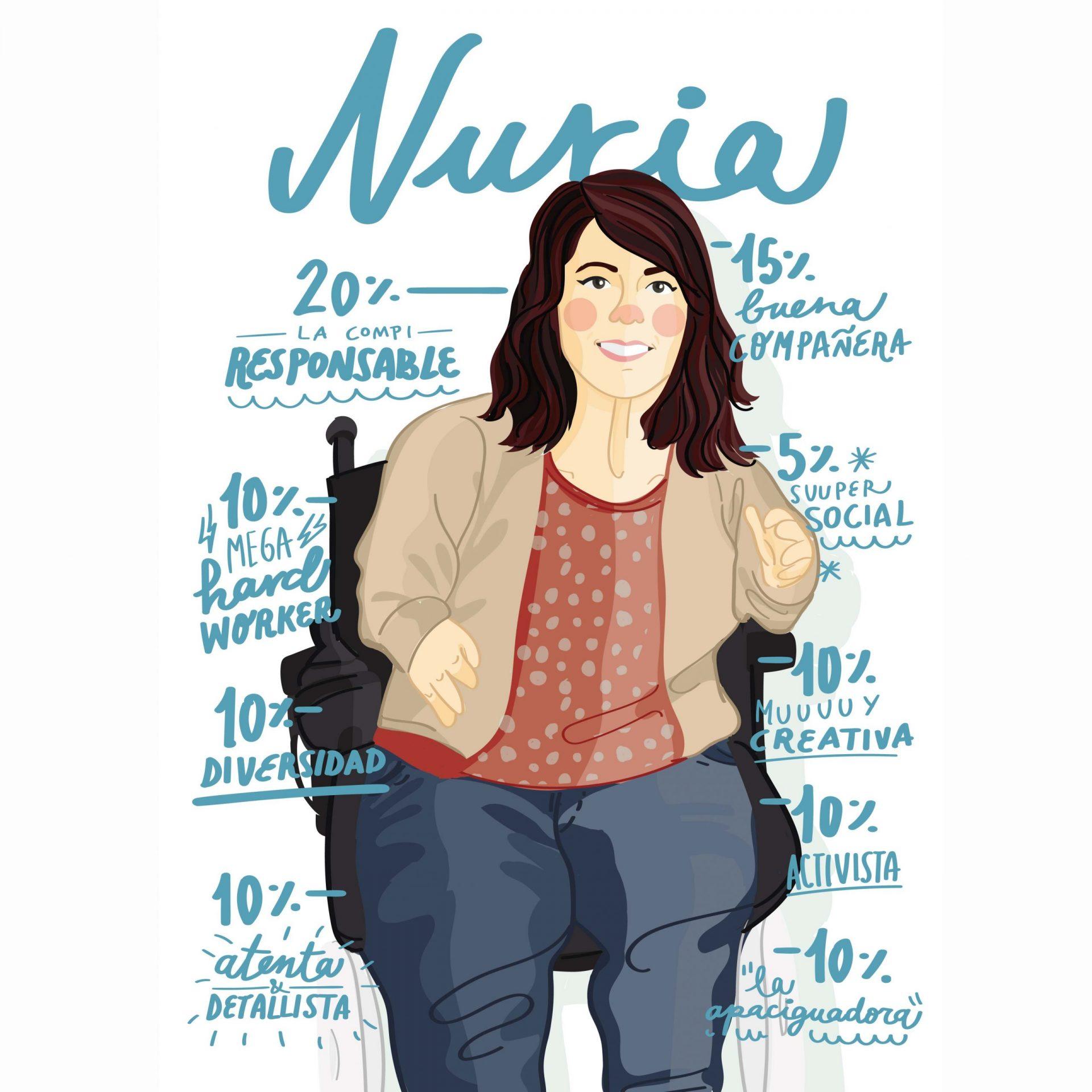 Ilustración de Nuria Embid